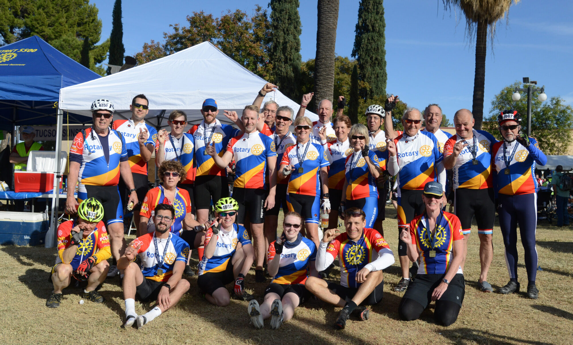 RotaryDistrict 5500  Ride to End Polio
